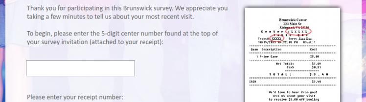 Brunswick Zone Survey