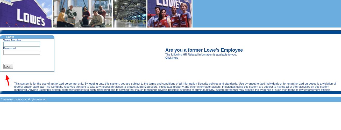 Lowe s SSO Login