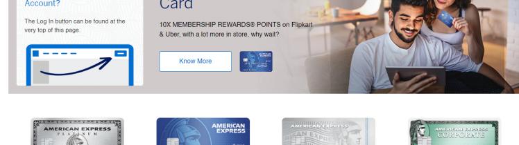 American Express Online Portal Login