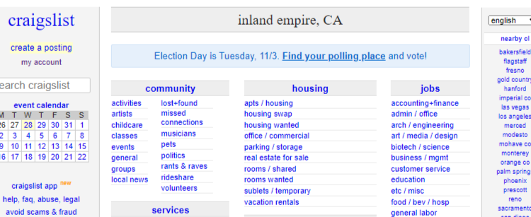 inlandempire.craigslist.org - Craigslist Account Login Guide