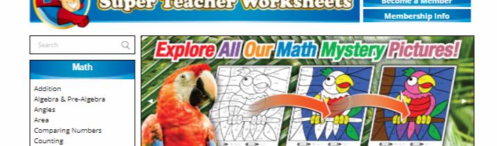 worksheet super teacher