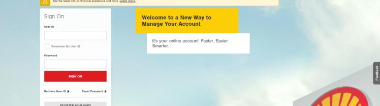 Shell Credit Card Application
