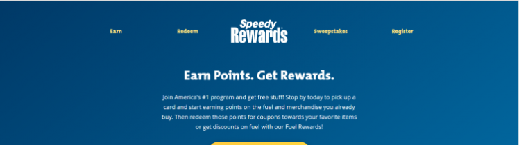 speedey rewards sign in