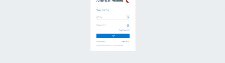 PSA American Airlines login portal