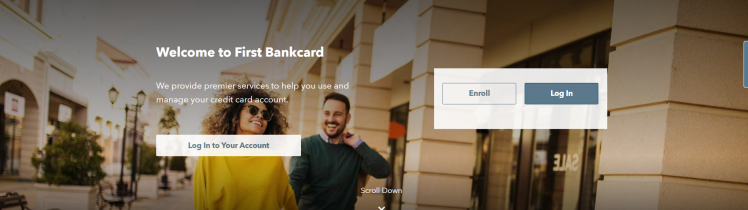First Bankcard Sign in