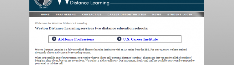 weston distance learning student guide