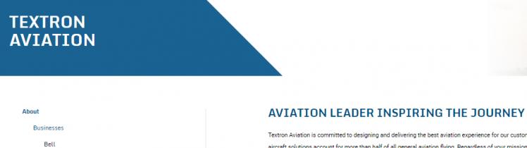 Textron-Aviation Account