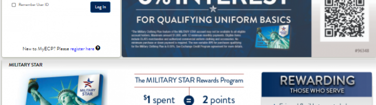 military star card application