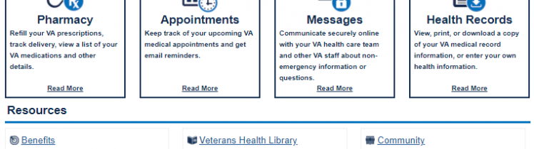 my healthevet secure messaging