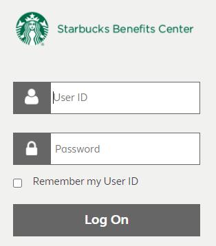 starbucks benefits center login
